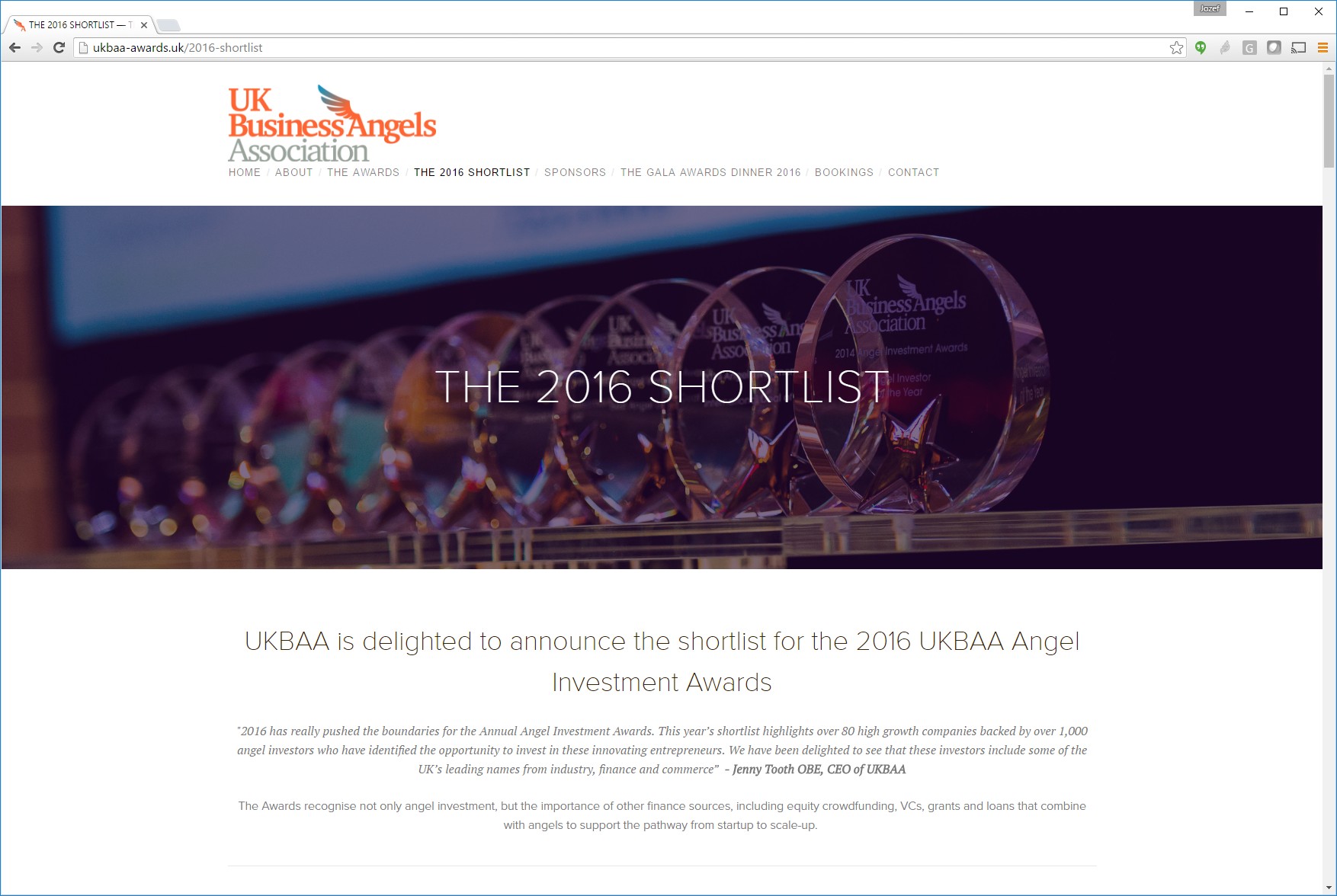 3D Repo shortlisted for UKBAA Best Investment in Disruptive