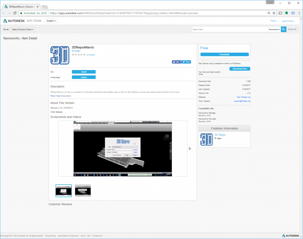 3drepo4navis Plug In Preview Now On Autodesk App Store