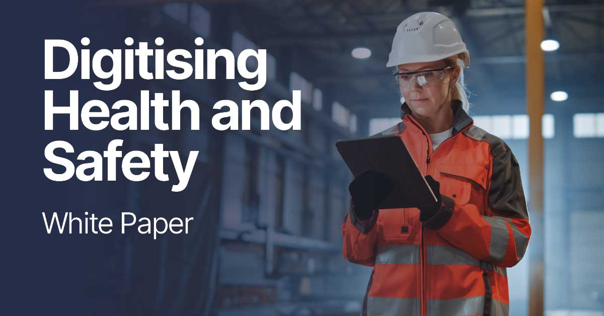 White Paper on digitising health and safety in construction